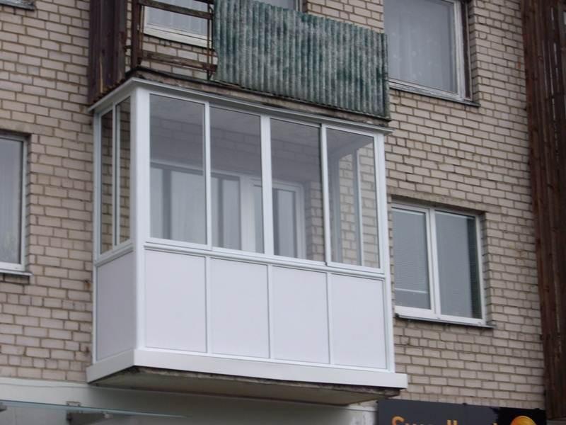 Алюминиевое остекление балконов и лоджий в иваново от компан.