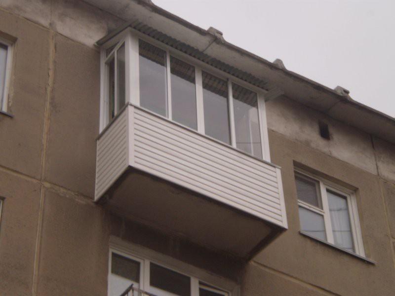 """Крыша для балкона от компании """"оконный стиль"""", иваново."""