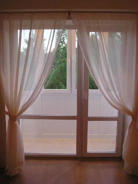 Как сделать французское окно