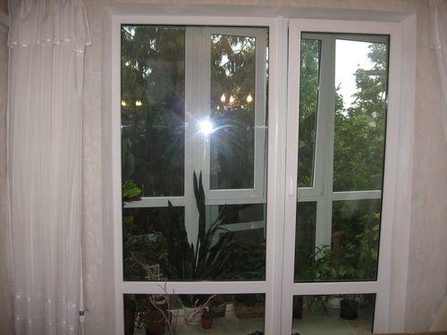 Остекление балкона французскими окнами в иваново от компании.